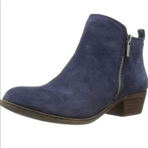 Lucky Brand Ankle Booties Suede